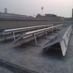 China Ballasted Solar Racking system | Solar Panel Ballast Mounting System on sale