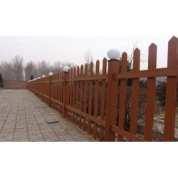 China Wood Plastic Composite Fence