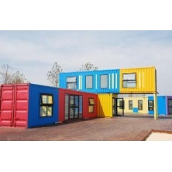 China New Style Quick Assembly Beautiful Prefabricated House on sale