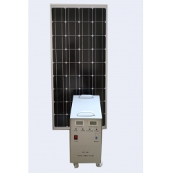 China 100W Mini Projects Home Solar Systems Solar Power Bank Solar Kits Home Lighting on sale