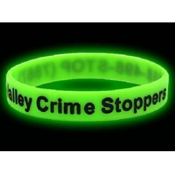 China Silicone Products glow in the dark silicone bracelet on sale