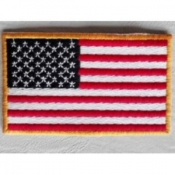 China Promotion Flag Embroidery Patches on sale