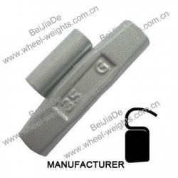 China Steel clip on wheel weights Steelcliponwheelweights STF52 on sale