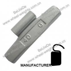 China Steel clip on wheel weights Steelcliponwheelweights STF45 on sale