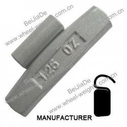 China Steel clip on wheel weights Steelcliponwheelweights STFOZ35 on sale