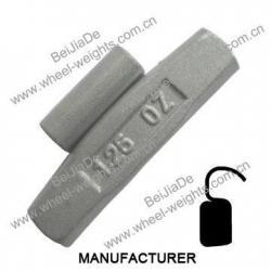 China Steel clip on wheel weights Steelcliponwheelweights STFOZ65 on sale