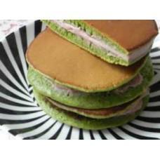 China Green Tea Custard Dorayaki supplier