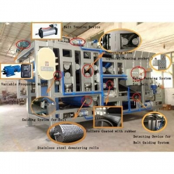 China Squeezing Series belt filter press on sale