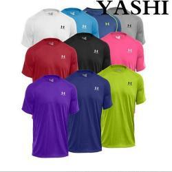 China Uniform Mens Dry Fit Mesh Sport T-Shirt on sale