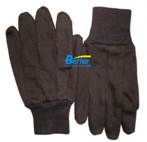 China BGCJ101-Mens Brown Cotton Jersey Gloves supplier