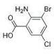 China Benzoic acid, 2-aMino-3-broMo-5-chloro- on sale