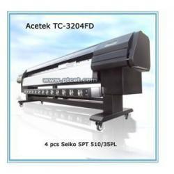 China Solvent printer Acetek TC-3204 FD large format printer on sale
