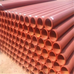 China DN125mm inner hardened concrete pump pipe on sale