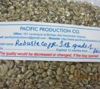 China Robusta Coffee S18 bag supplier