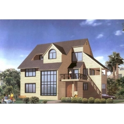 China Residential Villa Prefabricated house concrete on sale