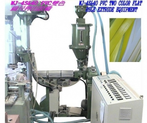 China PVC Two Color Flat Rule Extrude Equipment supplier