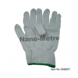 China 7 Gauge white labor working gloves-SKB007 on sale