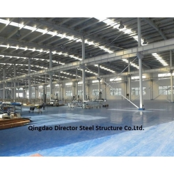 China Prefabricated Steel Structure Metal Frame Workshop Buildings on sale