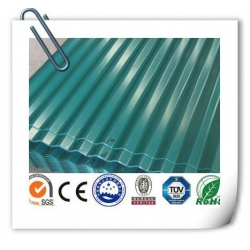 China Corrugated Color Coated roofing sheet on sale