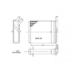 China LADA Heater OEM 2111-8101060 0123 on sale