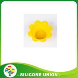 China Promotion Mini Flower Shape Silicone Cake Mold on sale