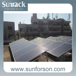 China Penetrating Solar Panel pv Roof Mounting Systems on sale