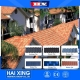 China Stone Coated Ceramic Tiles Blue Roofing Shingles Prices on sale