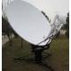 China 2.4m Lightweight Flyaway Antenna on sale