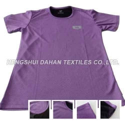 China polyester fabric dri-fit short sleeve Athletic T-Shirt-Mens(PURPLE)MS02 on sale