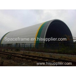 China Space Frame Steel Structure Dome Construction Coal Storage Shed Admin Edit on sale