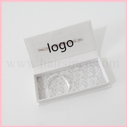 China High quality lashes logo package magnetic cardboard box on sale