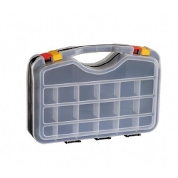 China Plastic Double Side Organizer PORTABLE PLASTIC ORGANIZER BOX HAP350714 on sale