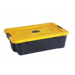 China Heavy Duty Plastic Stackable Storage Box with Lid Toolbox HAP350705 on sale