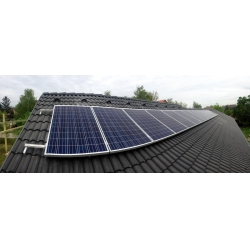 China 2017 Popular solar panel roof mounting brackets,On Grid Rooftop Solar Panel Mounting on sale