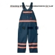 China Safety workwear arc resistant jean bib pants on sale