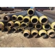 China Centrifugal glass wool insulation pipe on sale