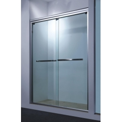 China Easy Clean One Sliding Framed Bathroom Glass Door on Sale on sale