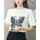 China Personality printing T-shirt butterfly sweater on sale