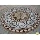 China Interior Decoration Waterjet Medallion Pattern Mosaic on sale