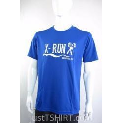 China Custom Round Neck Dri fit Running Tshirts on sale