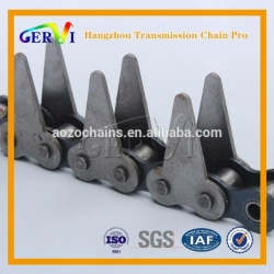 China BS/DIN ANSI Standard 80F Sharp Top Chain Conveying Purposes In The Timber And Pulp Industries 100F-2 on sale