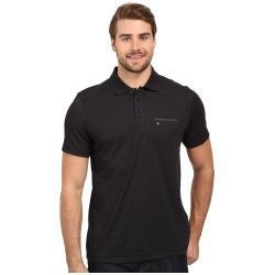 China Hurley - Dri-Fit Lagos Polo (Black) Men's Clothing on sale