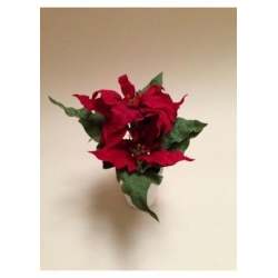 China Artificial Christmas Poinsettia - Potted. on sale