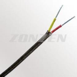China Thermocouple Wire High Temperature Fiberglass Insulated Thermocouple Wire (704C) on sale