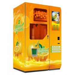 China fresh orange juice vending machine on sale