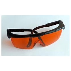 China Scintillation Crystals Laser Safety Goggles on sale