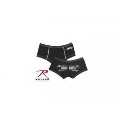 China Womens Ladies Girls Black Biker Chick Motorcycle Booty Shorts Panties Underwear on sale