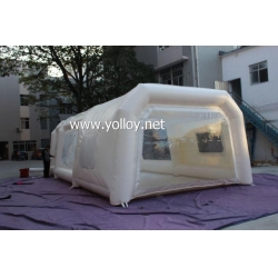 China Inflatable Car Tent Inflatable Car Paint Workstation Booth Tent on sale