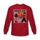 China BRUCE LEE COMIC PANEL SHIRTS- LONG SLEEVE T-SHIRT on sale