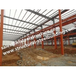 China Hot Galvanized Industrial Steel Buildings Modular Construction Sheds And Warehouse Din1025 on sale